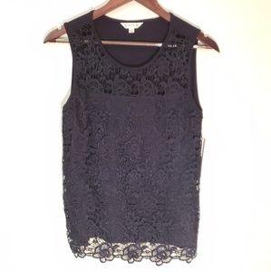 Nanette Lepore Crochet Short Sleeve
